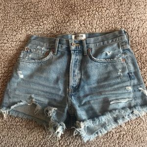 Agolde Parker Vintage Cut Jean Shorts